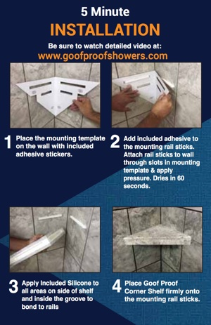 Shower Installation Made Easy for Contractors, Builders, Do